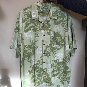 100% Silk Tommy Bahama Camp Shirt